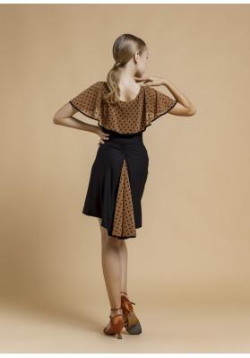 Latin skirt FURORE   ruviso-dancewear.com