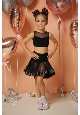 Latin Skirt - 111KW ruviso-dancewear.com