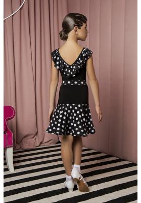 Latin Skirt  - 1067 KW ruviso-dancewear.com