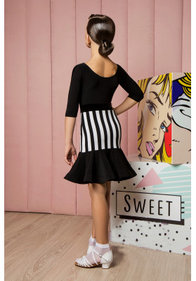 Latin Skirt - 1076 KW ruviso-dancewear.com