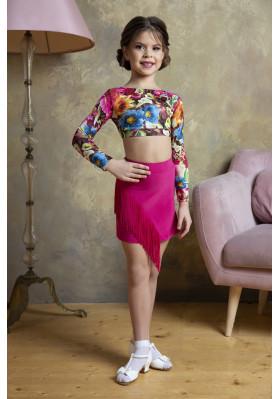 Latin Skirt - 1265 ruviso-dancewear.com