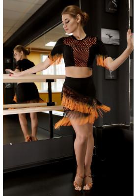 Latin Skirt - 653 ruviso-dancewear.com