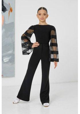 Women's flared trousers - 1110 KW ruviso-dancewear.com