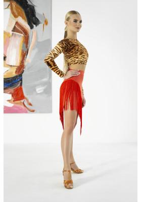 Latin Skirt - 1241 ruviso-dancewear.com