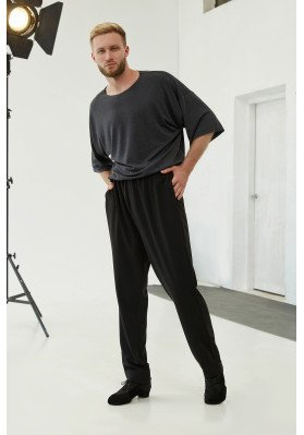 Men's Ballroom Trousers - BR 1282 ruviso-dancewear.com
