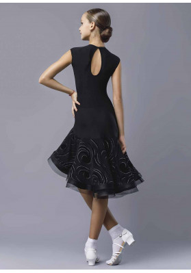 Latin Dress MUSICA ruviso-dancewear.com