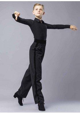 Mens ballroom pants SALVO ruviso-dancewear.com
