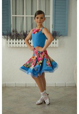 Latin Skirt - 1220 ruviso-dancewear.com